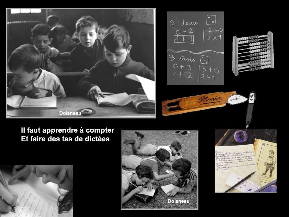Nous n´serions pas obligés D´aller chaque jour en classe Doisneau