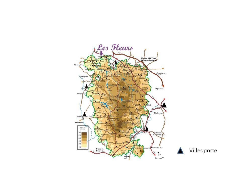 Fiche d identité Régions : Bourgogne Départements : Côte-d Or, Nièvre, Saône-et-Loire et Yonne.