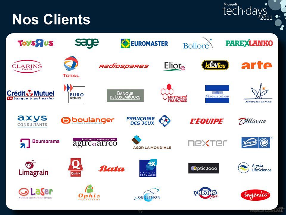 19 Nos Clients 19