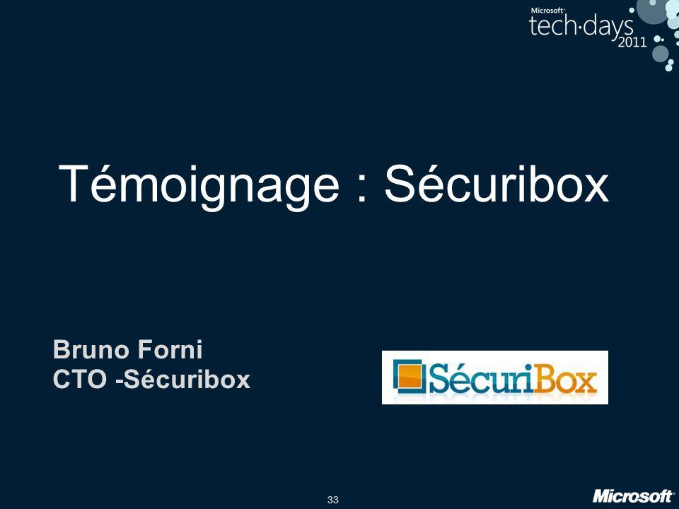 33 Témoignage : Sécuribox Bruno Forni CTO -Sécuribox