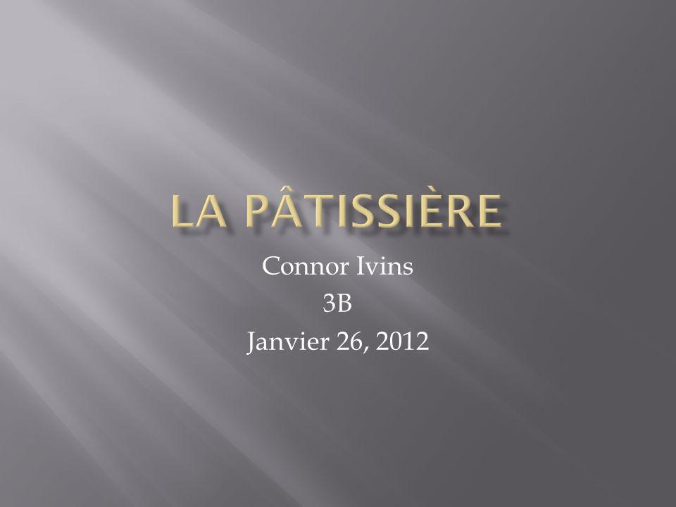 Connor Ivins 3B Janvier 26, 2012