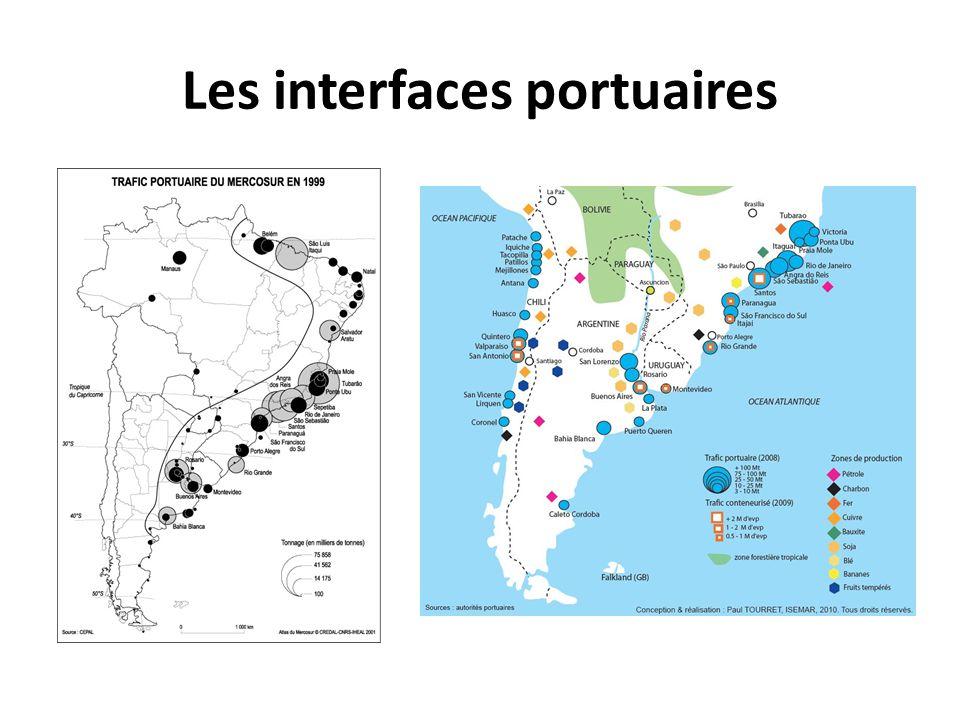Les interfaces portuaires