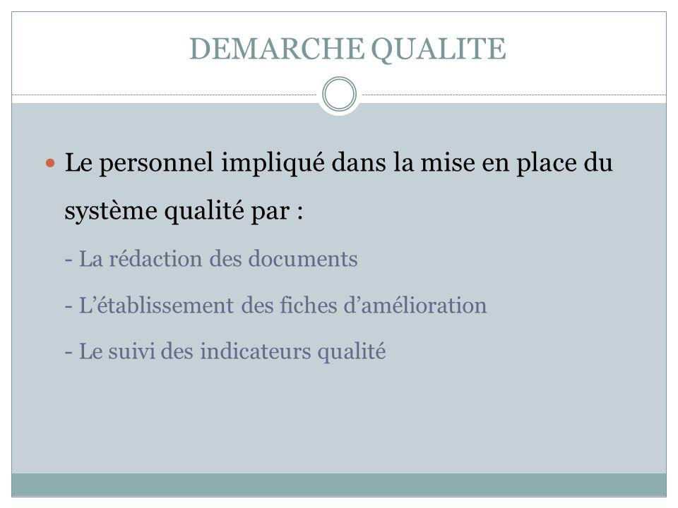 MAITRISE DES DOCUMENTS Les documents sont diffusés et gérés sur papier