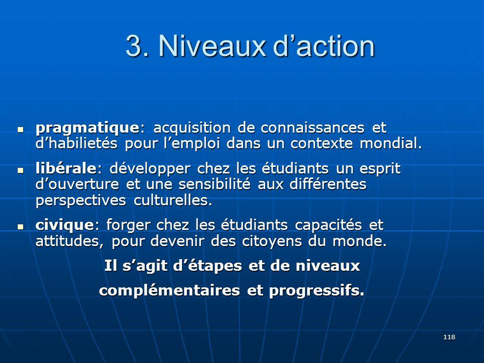 118 pragmatique: acquisition de connaissances et dhabilietés pour lemploi dans un contexte mondial.