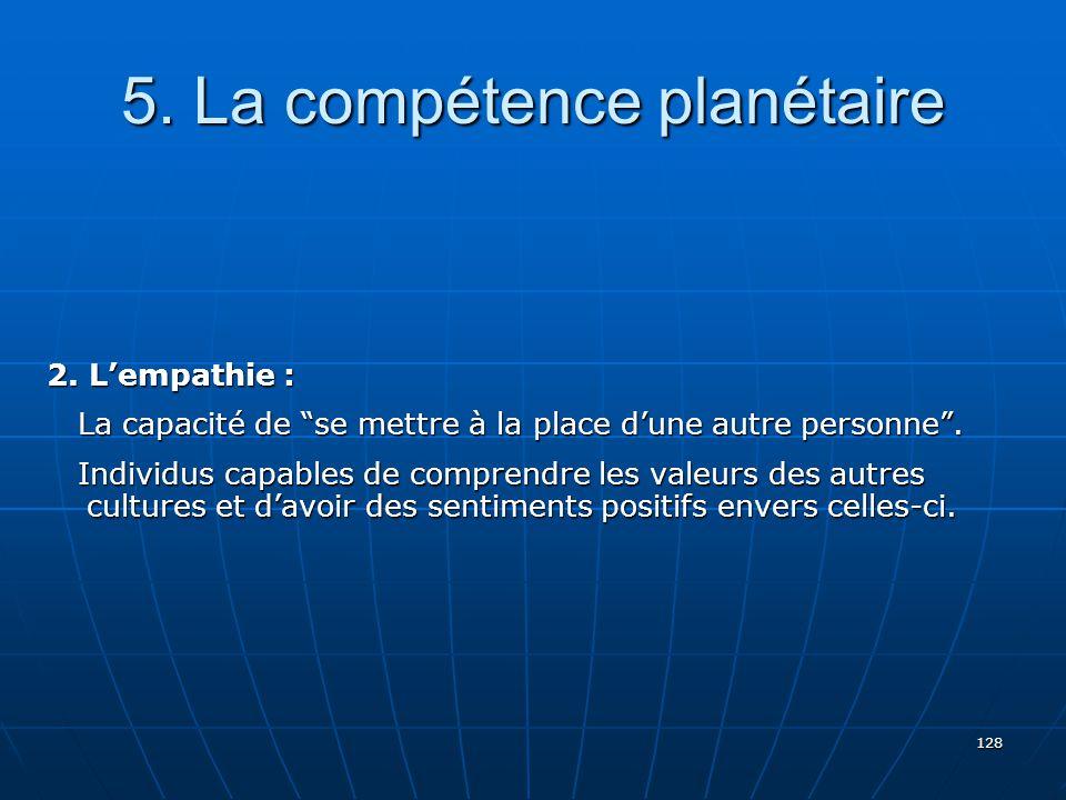 128 5.La compétence planétaire 2.