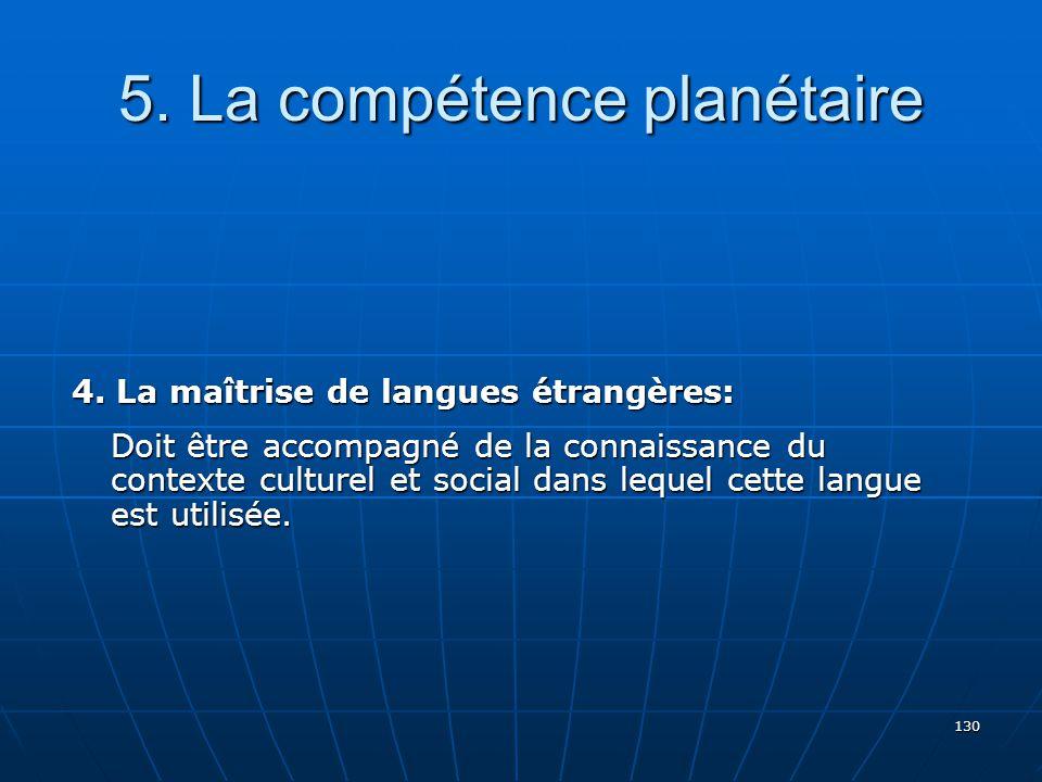130 5.La compétence planétaire 4.