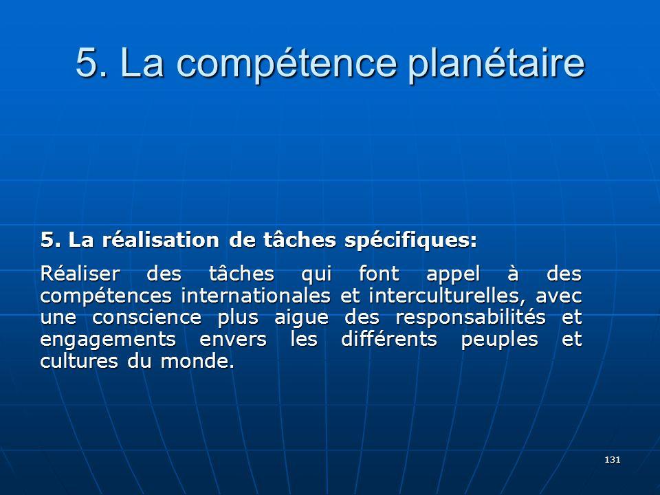 131 5.La compétence planétaire 5.