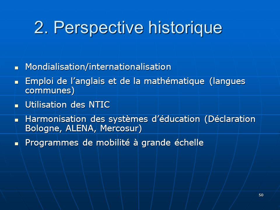 50 2.Perspective historique 2.