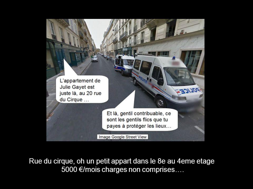 Rue du cirque, oh un petit appart dans le 8e au 4eme etage 5000 /mois charges non comprises….