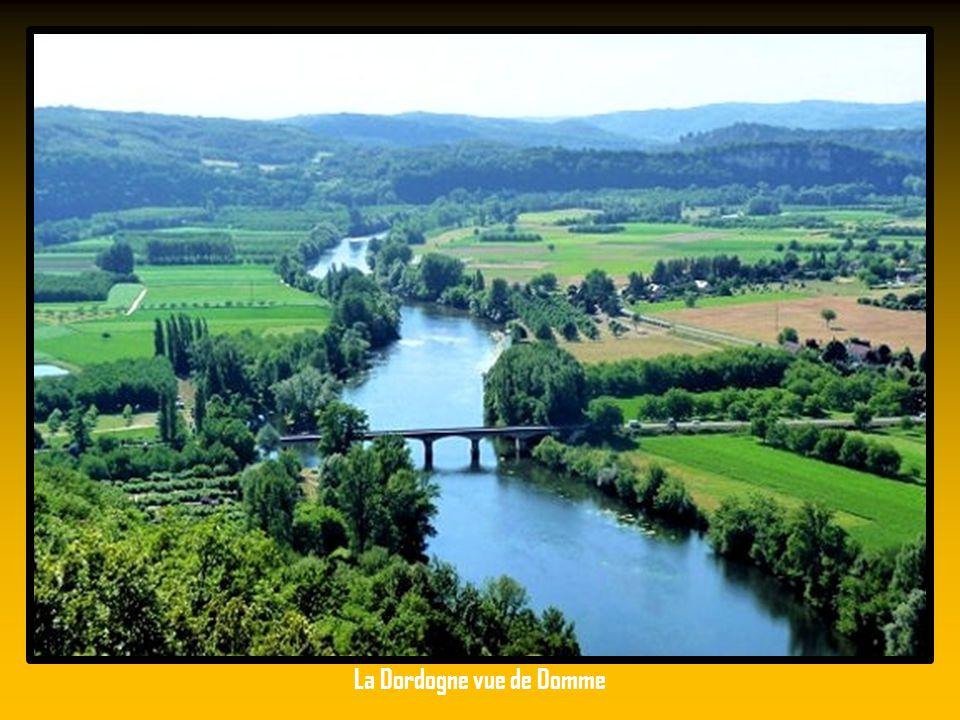 La Dordogne vue de Domme