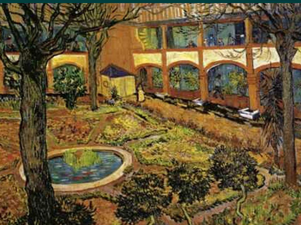 En Arles, aujourdhui le jardin peint par Van Gogh (photo suivante )
