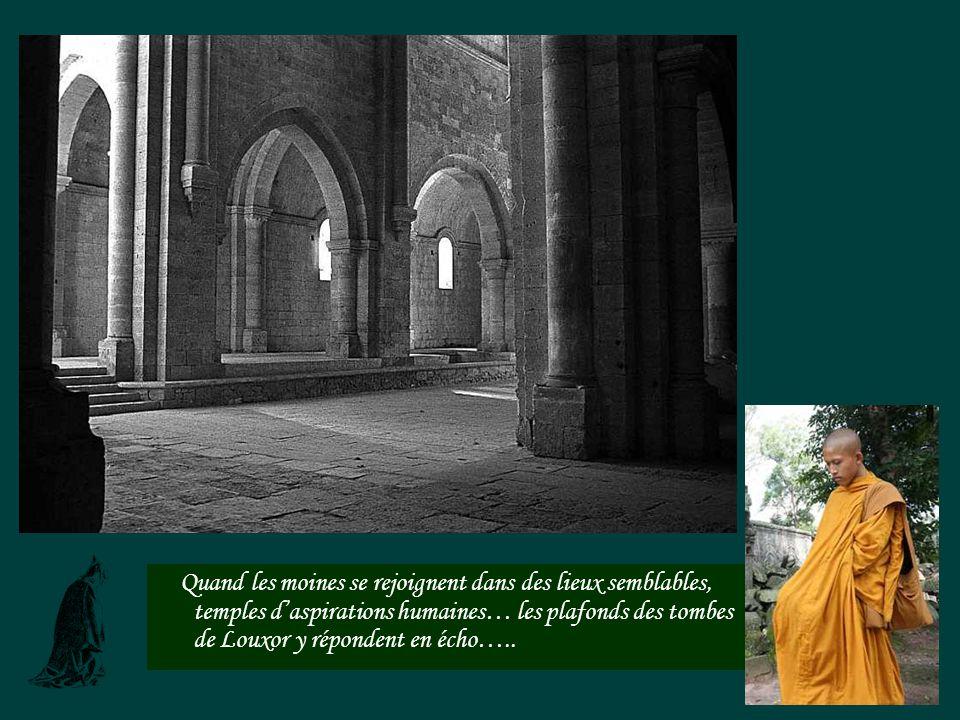 Labbaye de Sylvacane à La Roque dAnthèron: cétait au Moyen-âge, le passage à gué pour traverser la Durance sans se faire assaillir par les bandits de