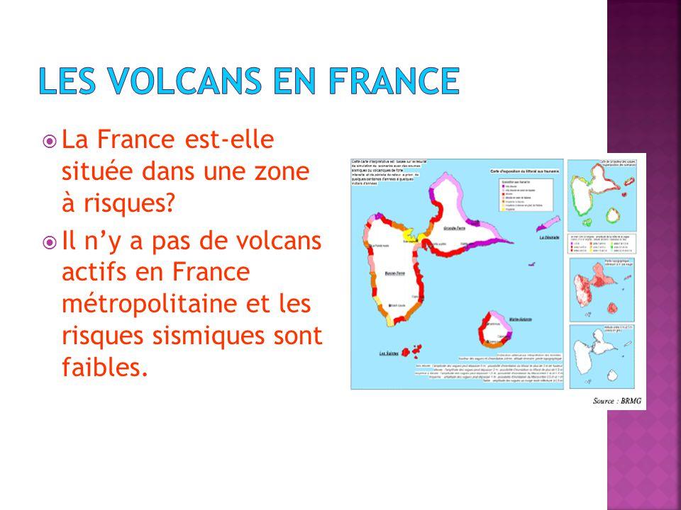 La France est-elle située dans une zone à risques.