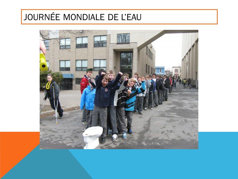 JOURNÉE MONDIALE DE LEAU