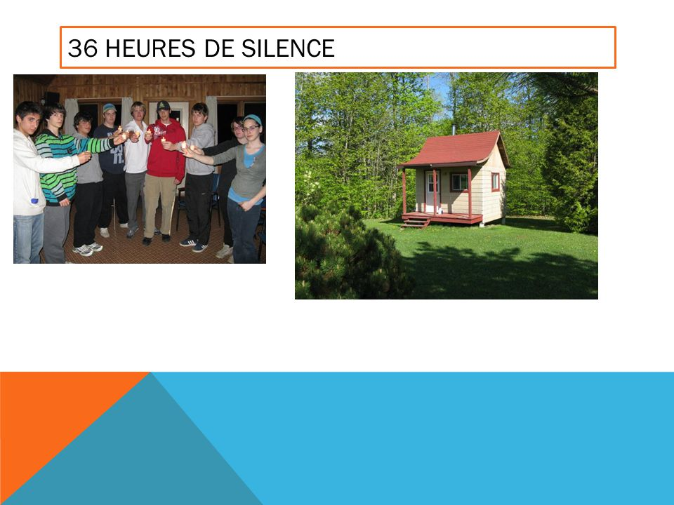 36 HEURES DE SILENCE