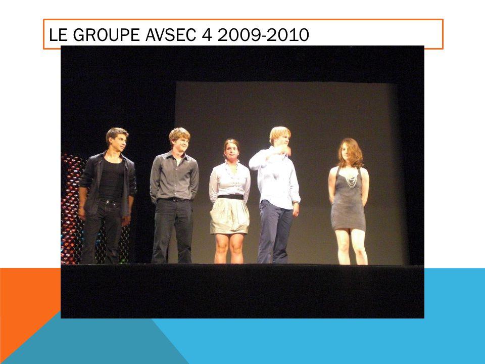 LE GROUPE AVSEC 4 2009-2010
