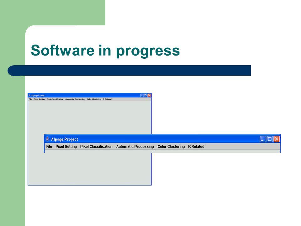 Software in progress
