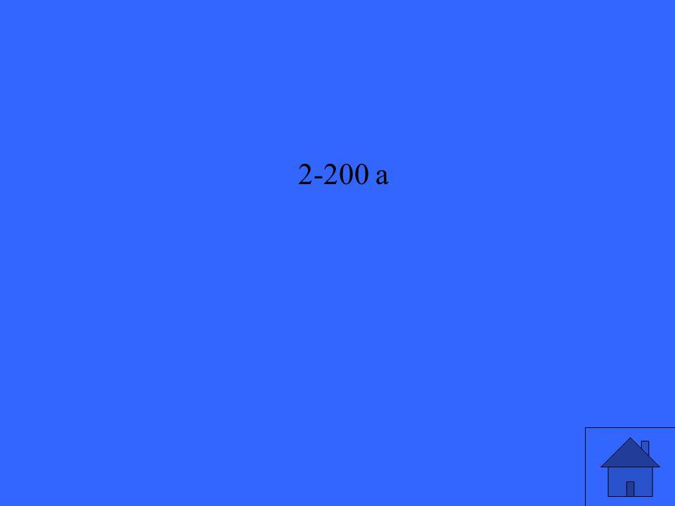 2-200 a