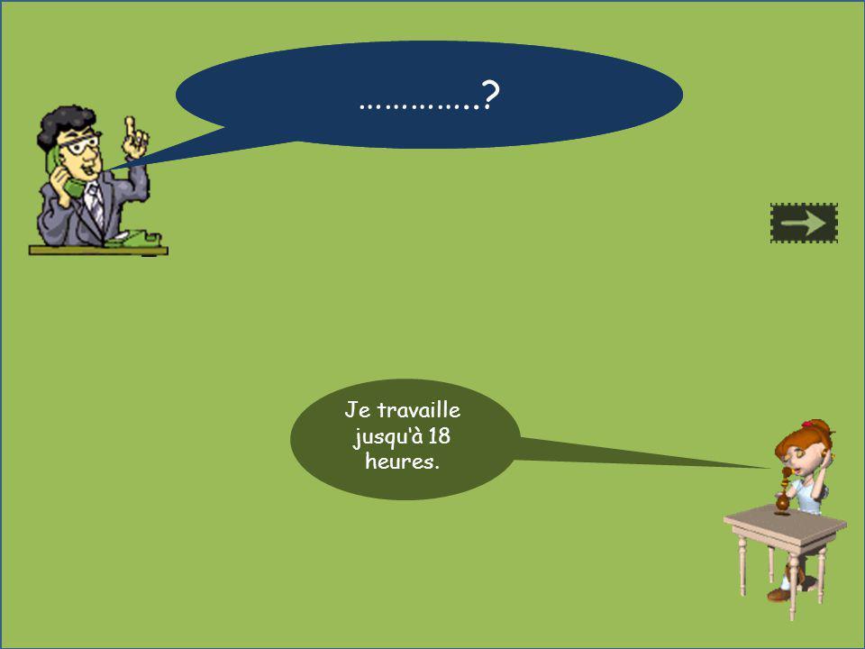 Où habites tu ? Jhabite à Paris. …………..?