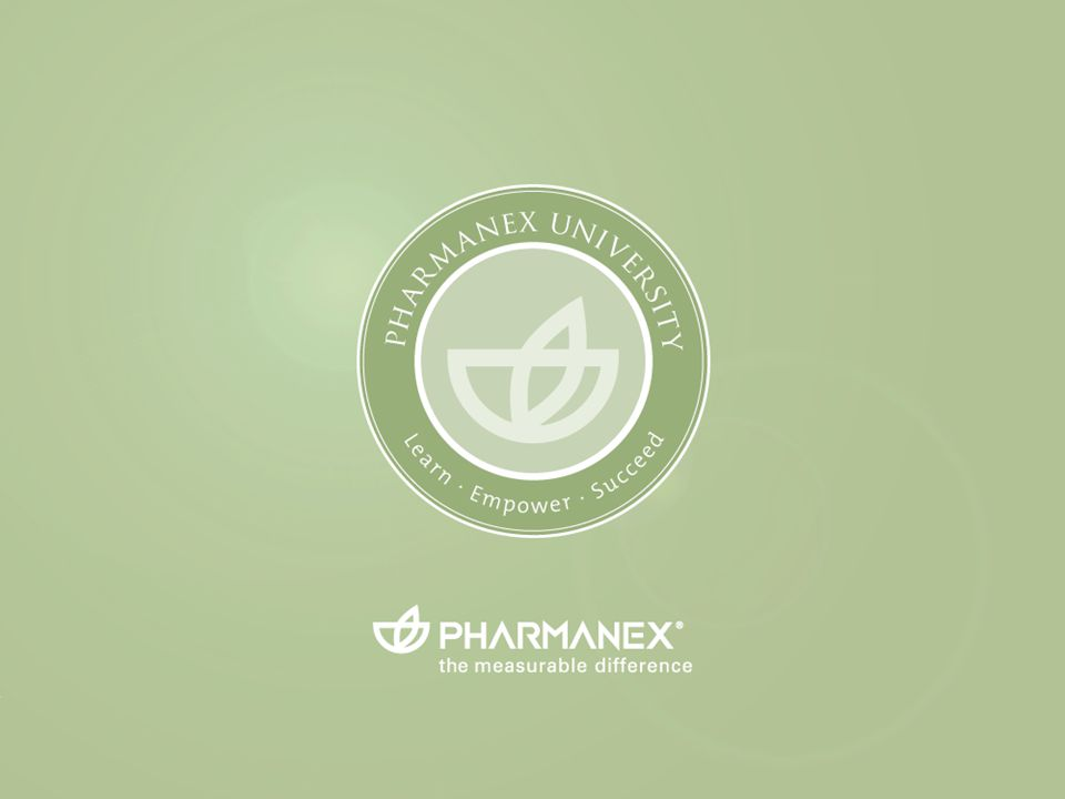 Pharmanex University EXITENTER