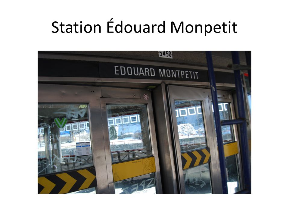 Station Édouard Monpetit