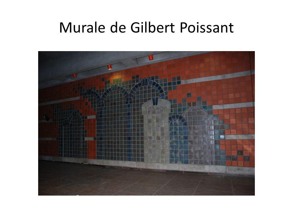 Murale de Gilbert Poissant