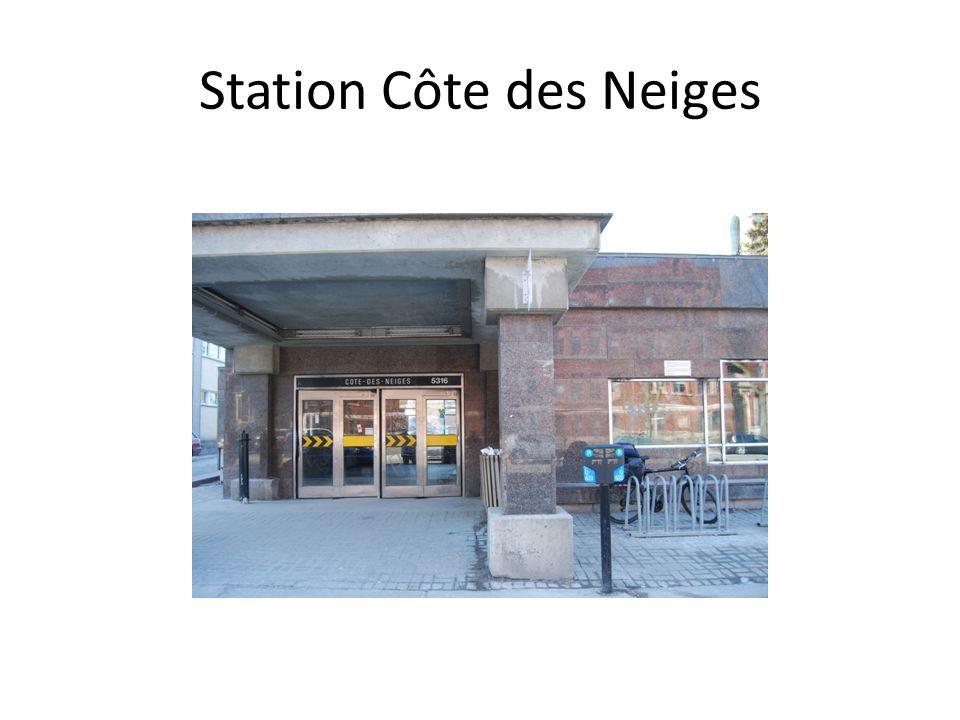 Station Côte des Neiges