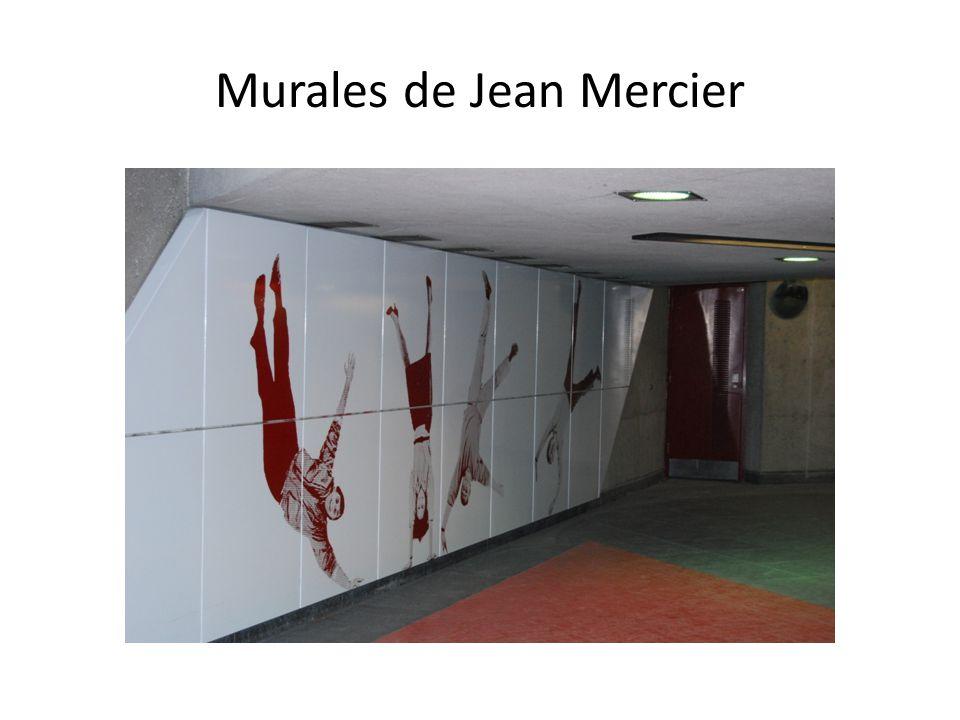 Murales de Jean Mercier