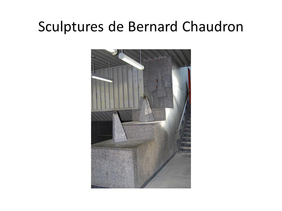 Sculptures de Bernard Chaudron