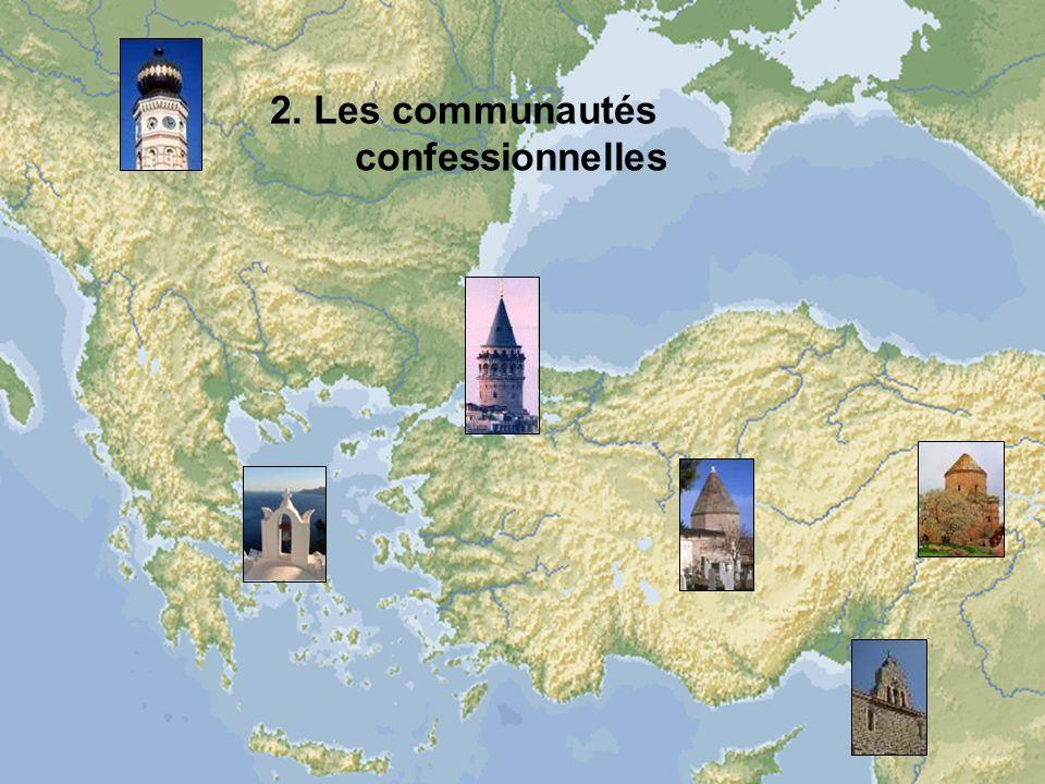 2. Les communautés confessionnelles