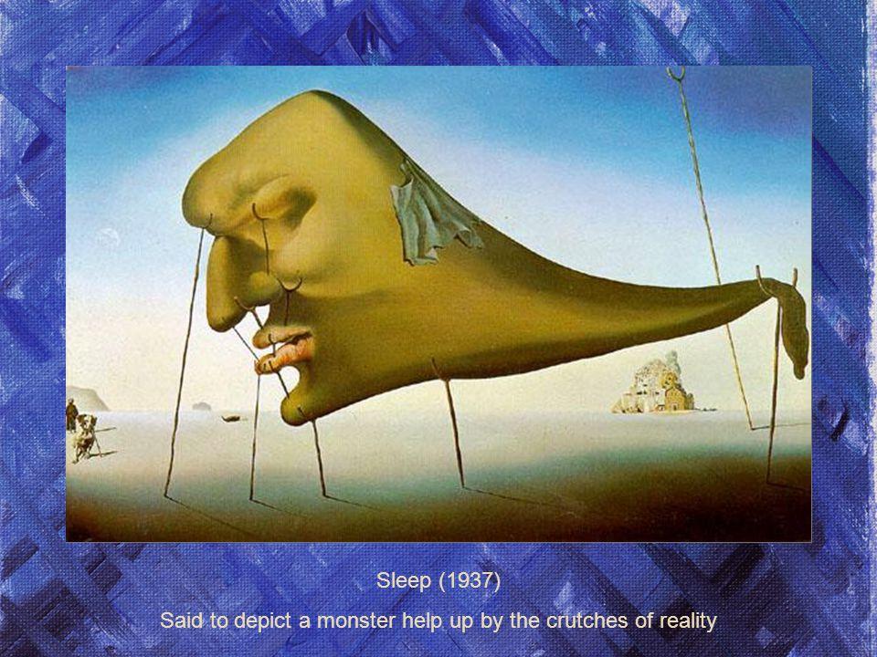 The Metamorphosis of Narcissus (1937 La métamorphose de Narcisse (1937) Alors que la plupart des surréalistes radicale de leurs convictions politiques, Dalí a refusé de discuter de politique.