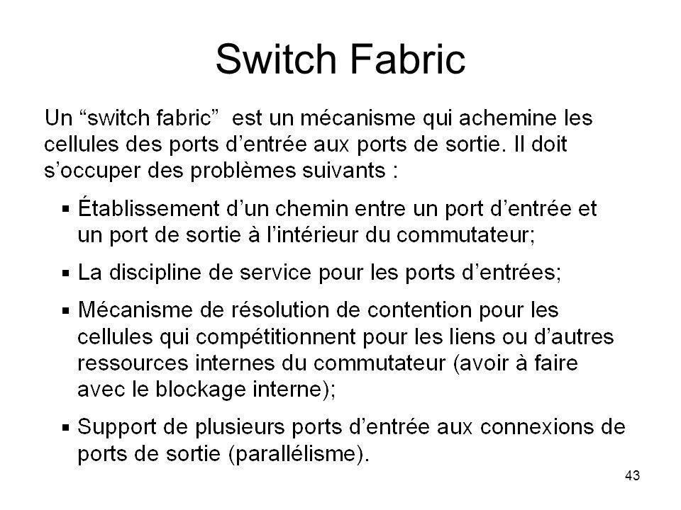 43 Switch Fabric