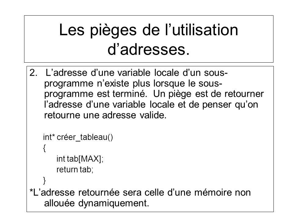 Les pièges de lutilisation dadresses.2.