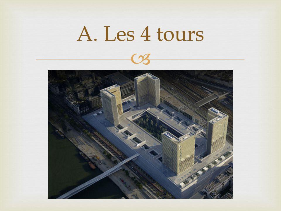 A. Les 4 tours