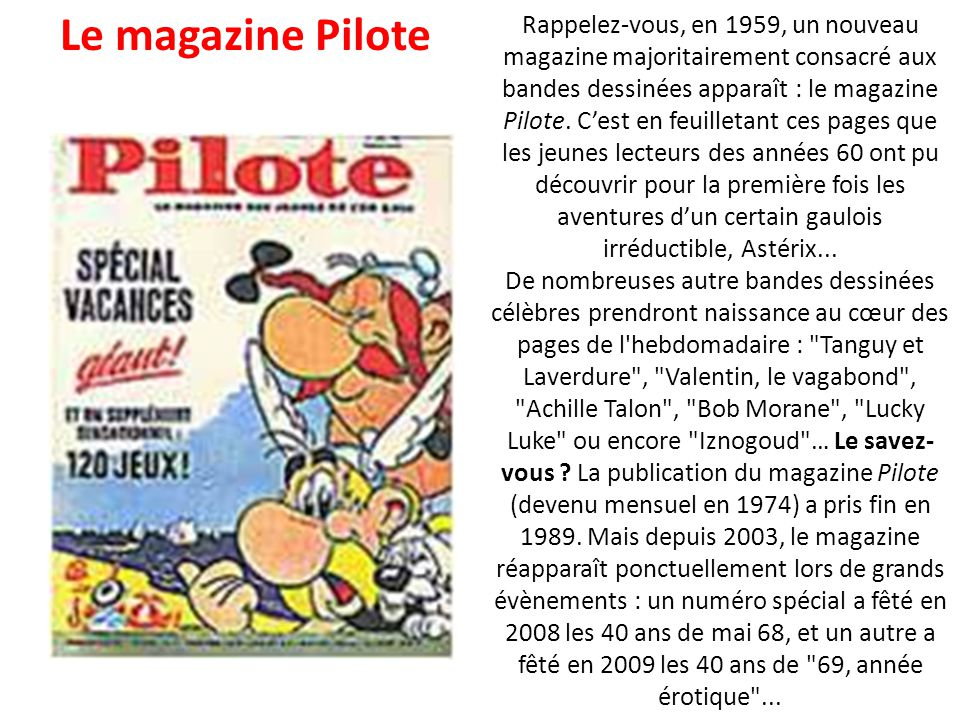 En 1962, les jeunes Français découvrent la revue