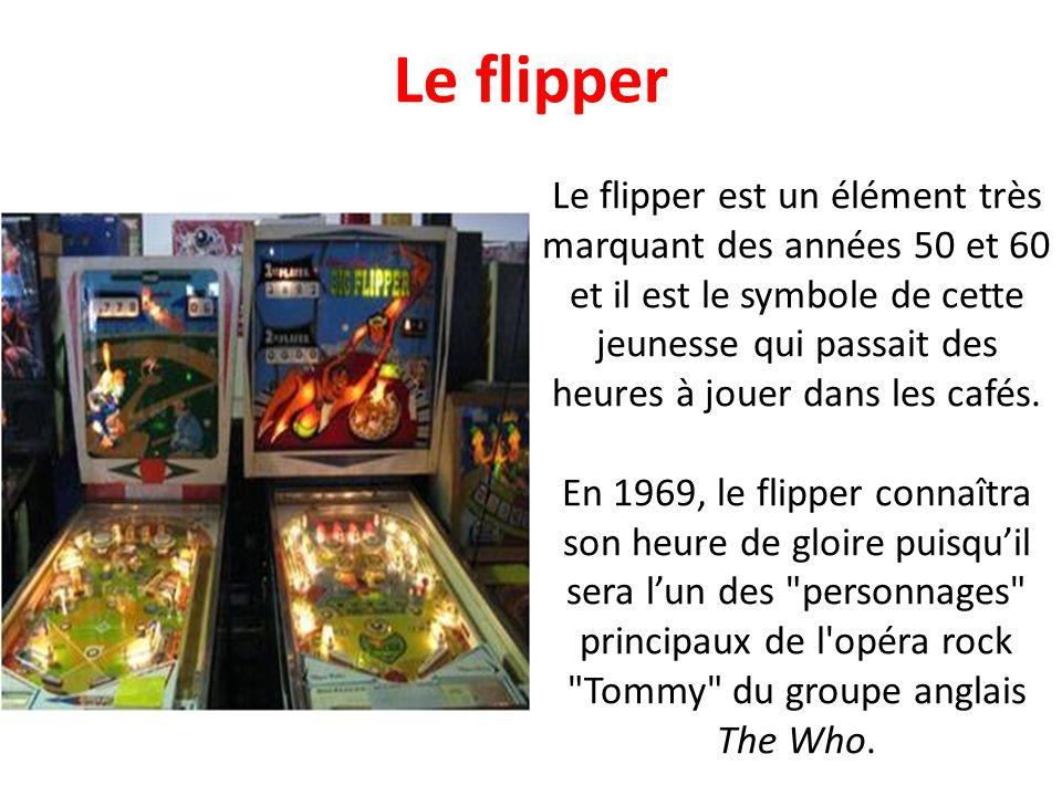 A linstar du flipper ou du juke-box, le baby-foot est un accessoire essentiel dans les bars et cafés branchés des années 50 et 60. A deux ou à quatre,