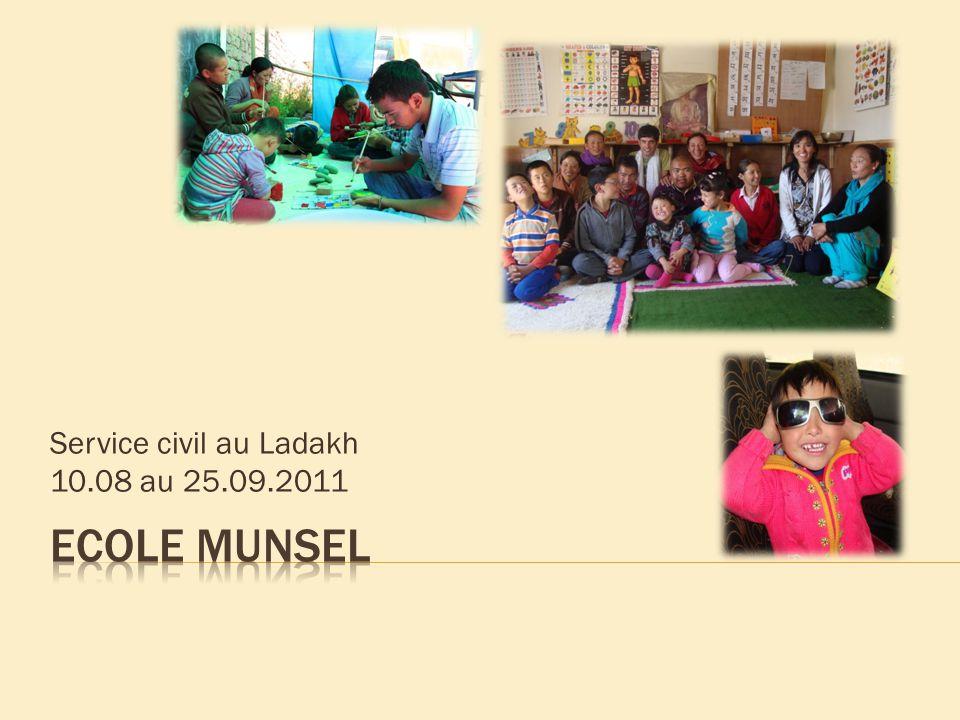 Service civil au Ladakh 10.08 au 25.09.2011