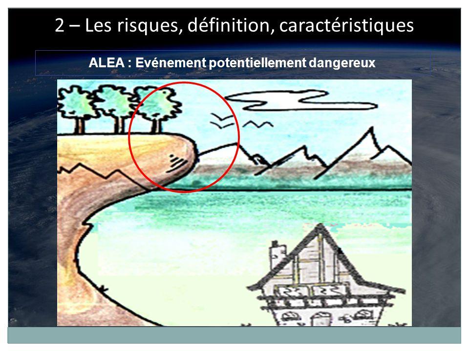 Mouvement de terrain : Déplacement plus ou moins brutal du sol et/ou du sous-sol.