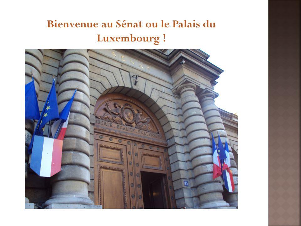 Bienvenue au Sénat ou le Palais du Luxembourg !