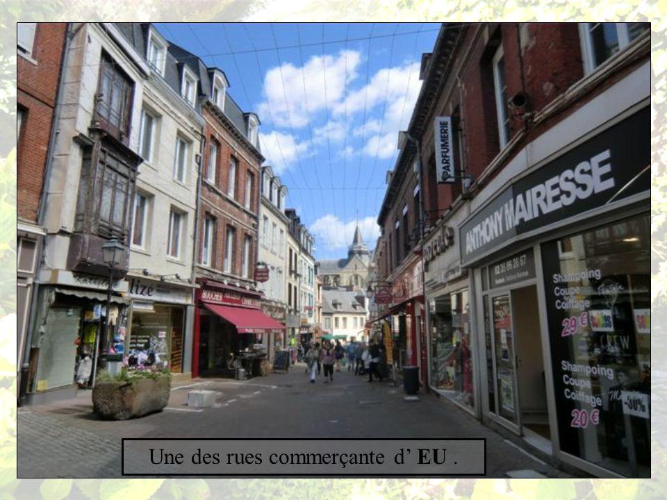 La rue des Fontaines.