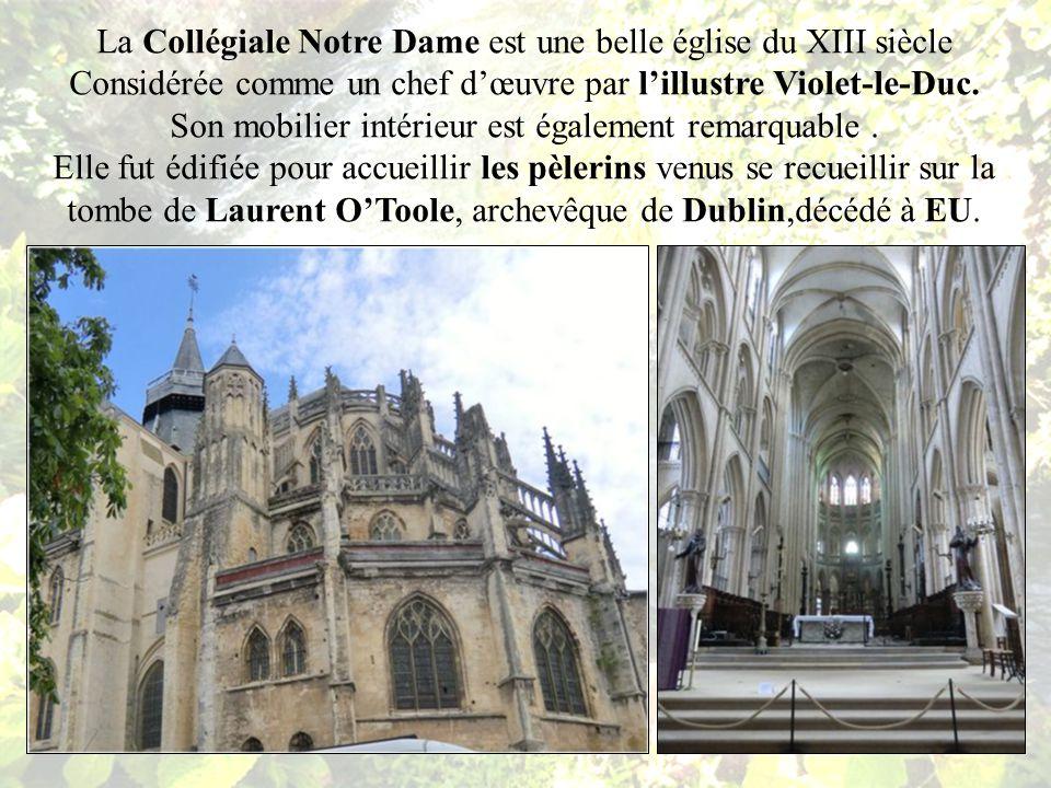 La Collégiale Notre Dame dEU