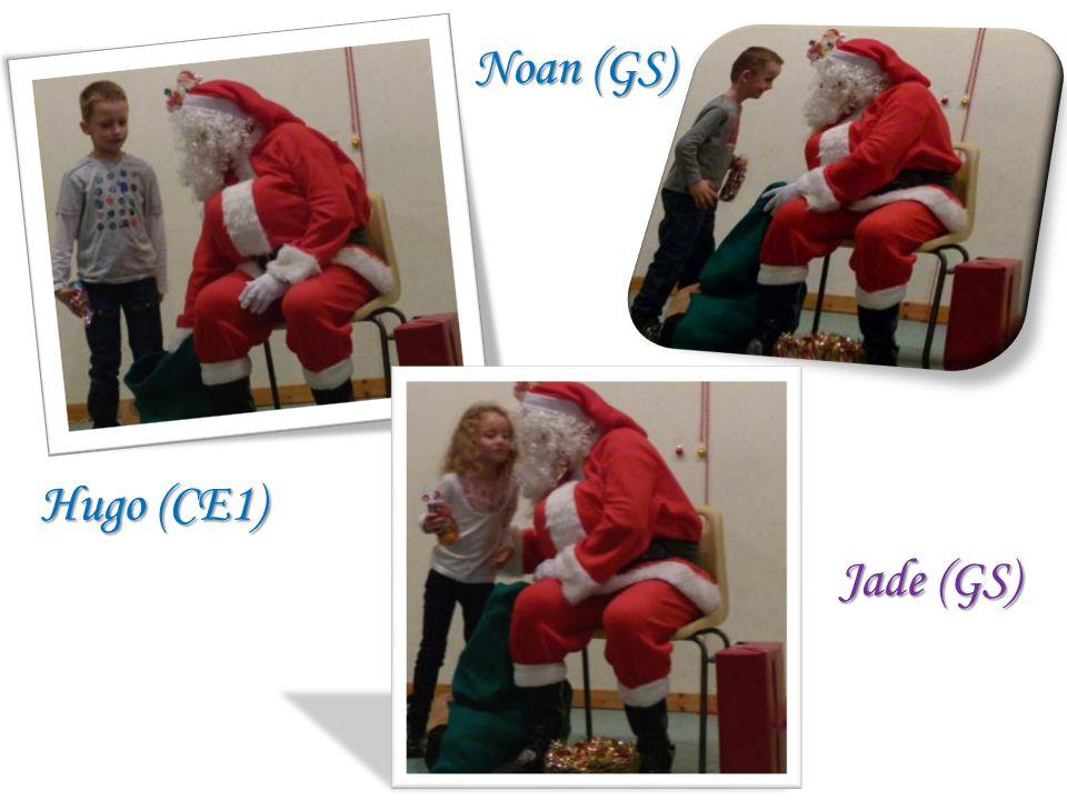 Hugo (CE1) Jade (GS) Noan (GS)
