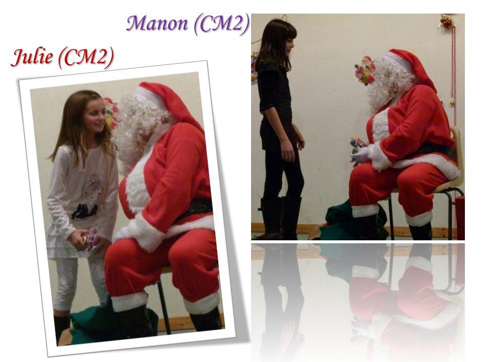 Julie (CM2) Manon (CM2)