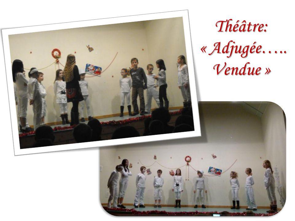 Théâtre: « Adjugée….. Vendue » « Adjugée….. Vendue »