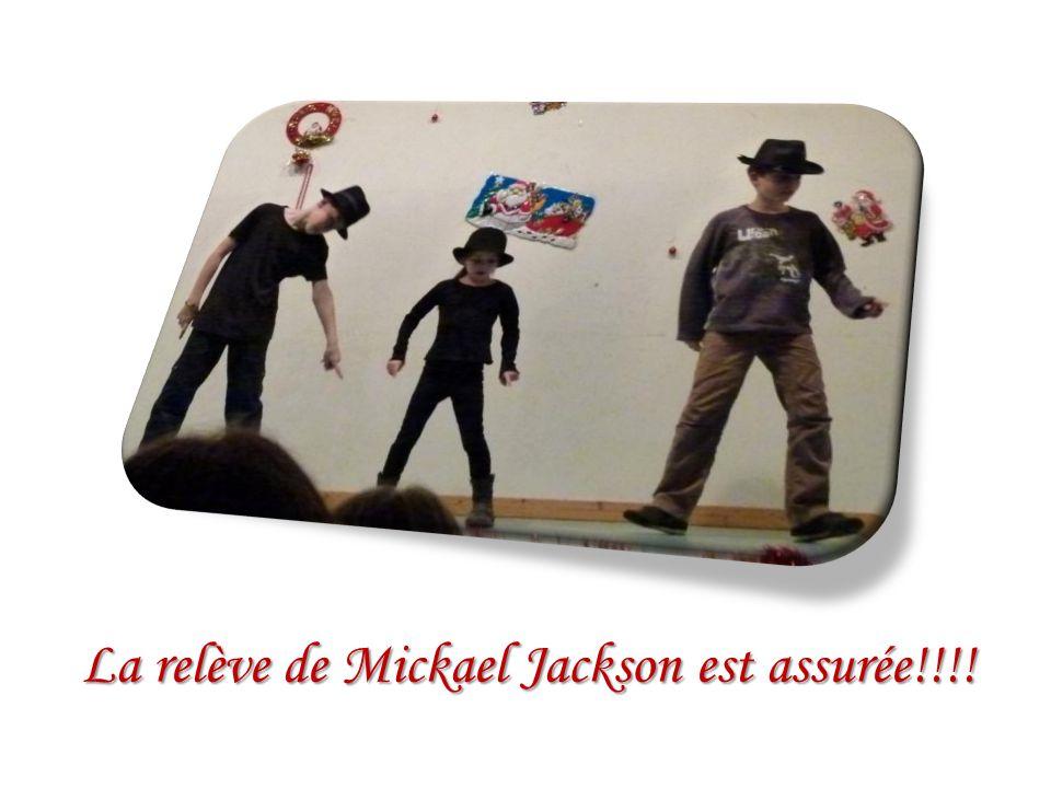 La relève de Mickael Jackson est assurée!!!!