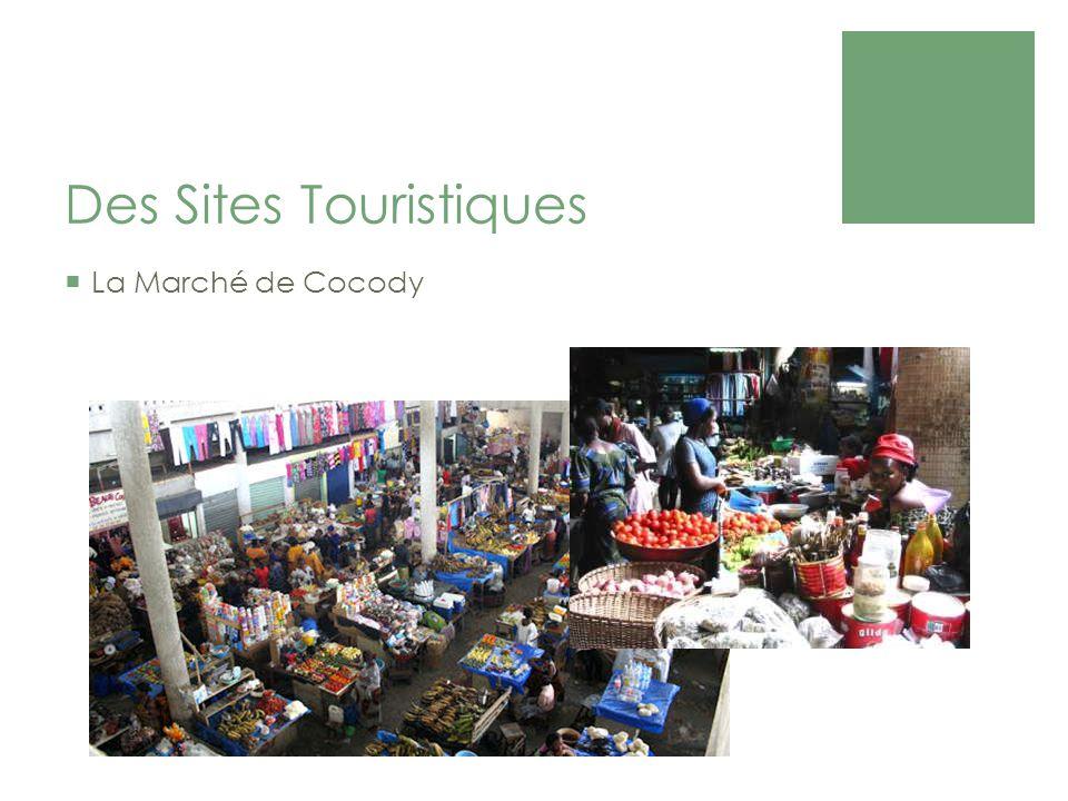 Des Sites Touristiques La Marché de Cocody