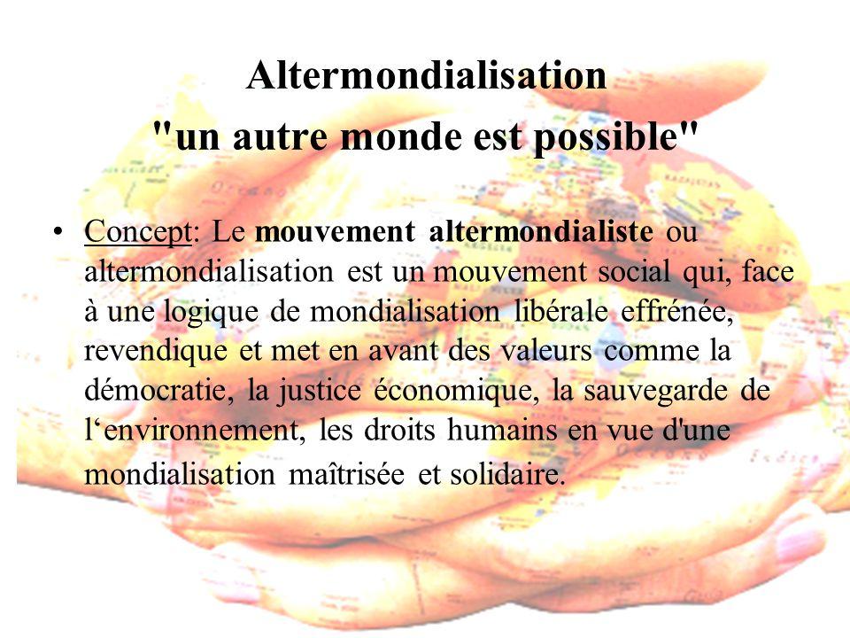 Altermondialisation