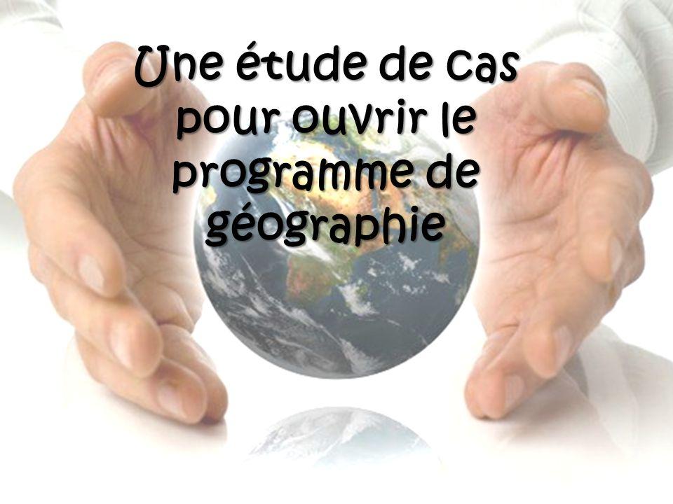 « Le programme de la classe de 5 ème est consacré à la poursuite de létude du développement durable.
