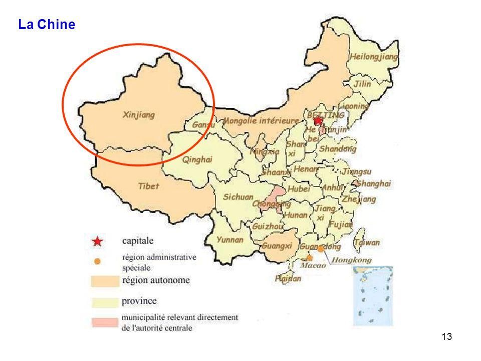 13 La Chine