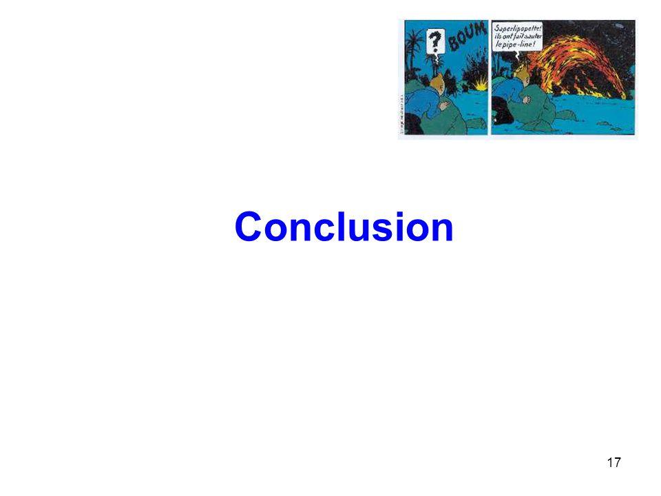 17 Conclusion